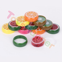Magic creative diy crystal fruit clear slime color fluffy colorful box oem special container orange barrel o slime
