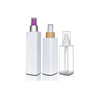 Standard square plastic pet bottle manufacturers