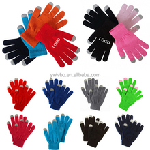 Soft Winter Unisex Touch Gloves Texting Capacitive Smartphone Knit Gloves