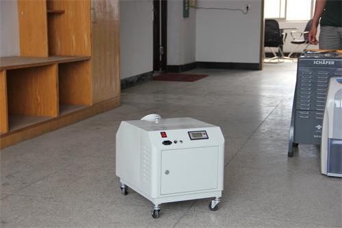 Mobile industriel à ultrasons brume fraîche humidificateur d'air JDH-G060Z De Hangzhou