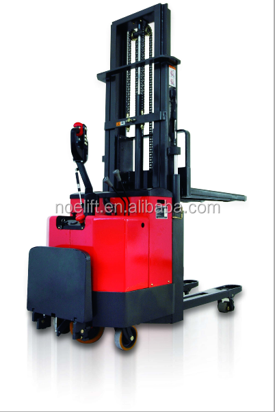 China made mini stacker with low price/hand winch powered stacker for sale