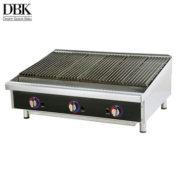 Top quality bbq grills countertop used lava stone commercial gas barbecue  grill for sale, View gas barbecue grill, DBK Product Details from Guangzhou