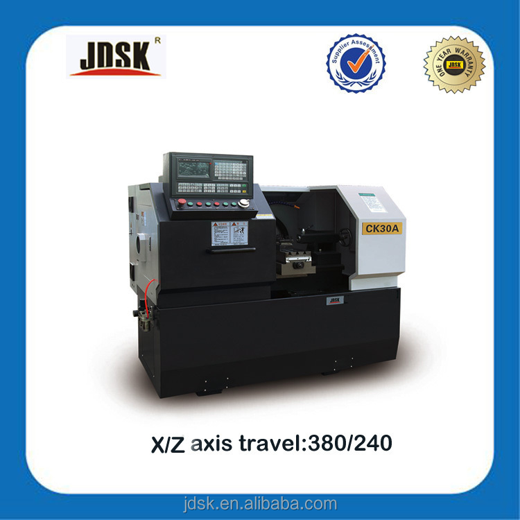 What is cnc machine, JDSK CNC Lathe CK30A Cheap CNC Lathe Machine with Tailstock Economic price
