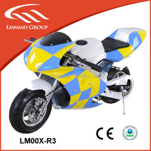 mini motorcycle 49cc kids pocket bike with 49CC engine CE and EPA