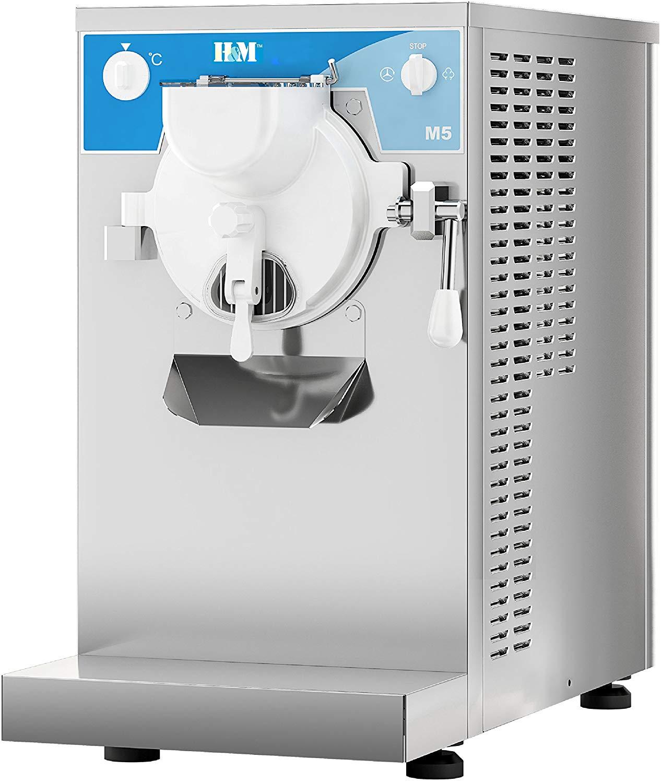 H&M HM5-216A Commercial Gelato Ice Cream Batch Freezer / Gelato Machine (5Liter/1phase/Air Cool)