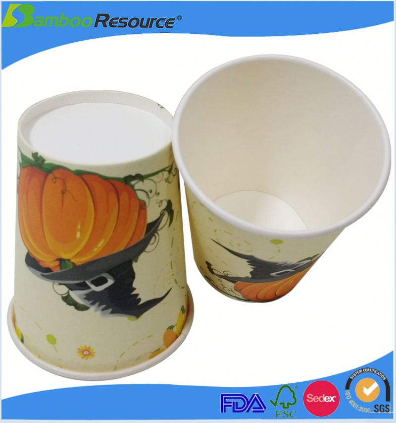 Design disposable paper soft drink cup
