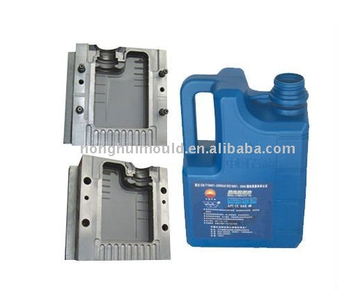 Good Quality Engine Oil Bottle Blow Mould Manufacturer