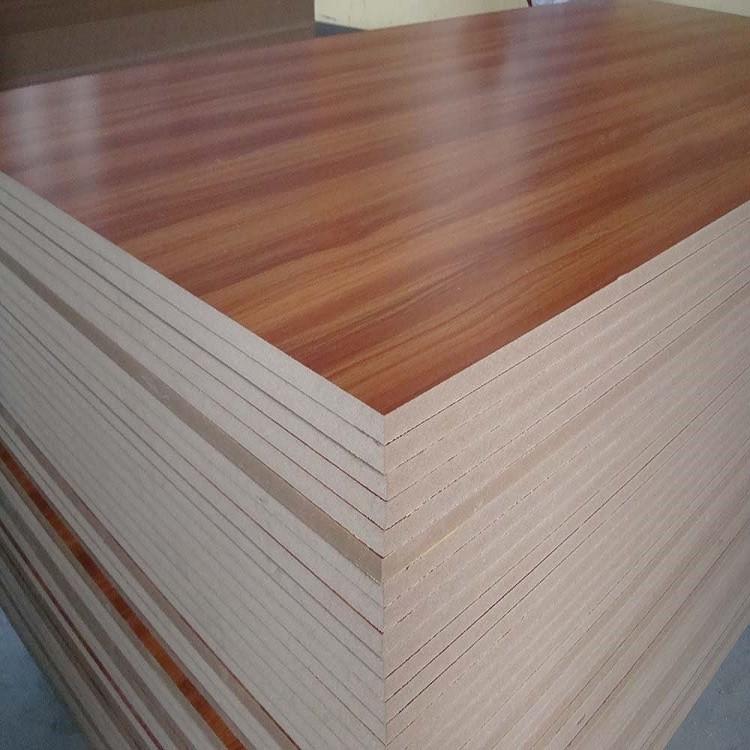 Bangladesh Price Hardboard Of Melamine Paper Mdf Board