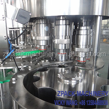 small soda bottle and carbonated drink beverage filling machine