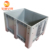 high quality hdpe heavy duty large transport industry collapsible plastic pallet box