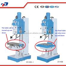 The new square column vertical drilling machine Z5140B cheap