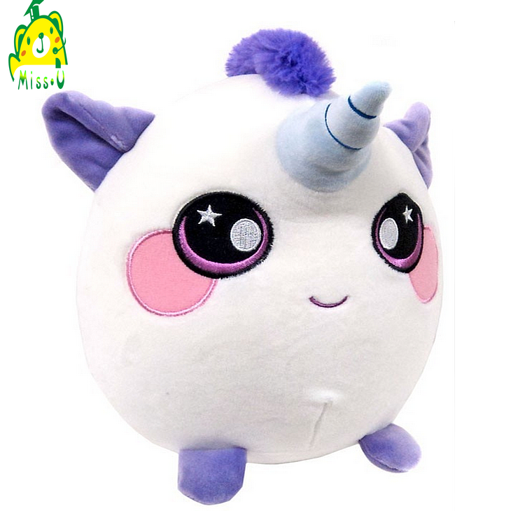 Factory custom squish plush rebound foam animal toy