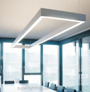Newly design linear fluorescent light fixtures for office,modern ...