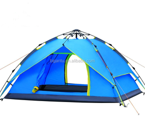 2-person Family Camping Hydraulic Automatic tent Backpacking Tent