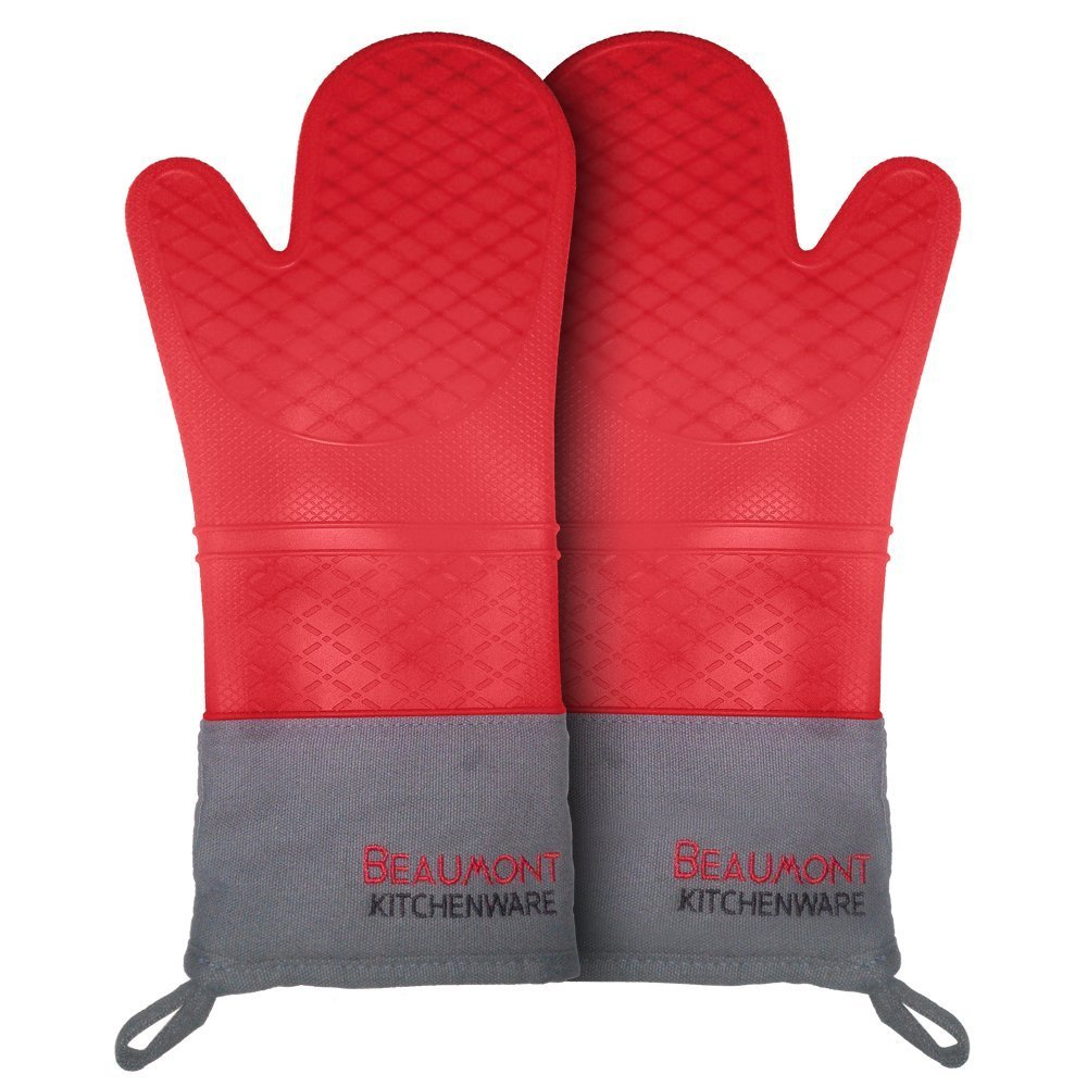 """Beaumont Kitchenware Top Rated Oven Mitts 