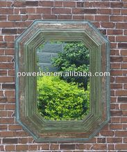 stick on wall garden mirrors