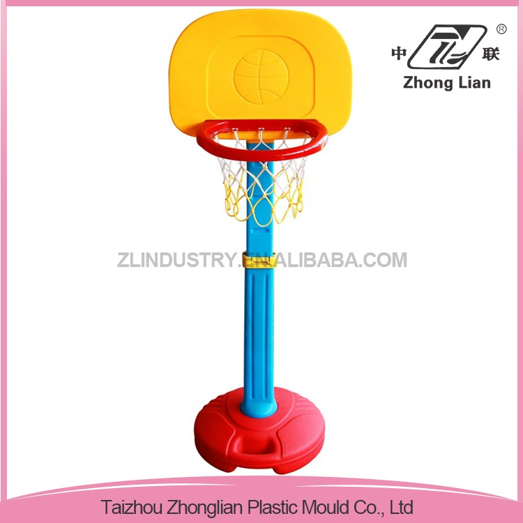 Professional indoor useful children plastic small basketball hoop stand