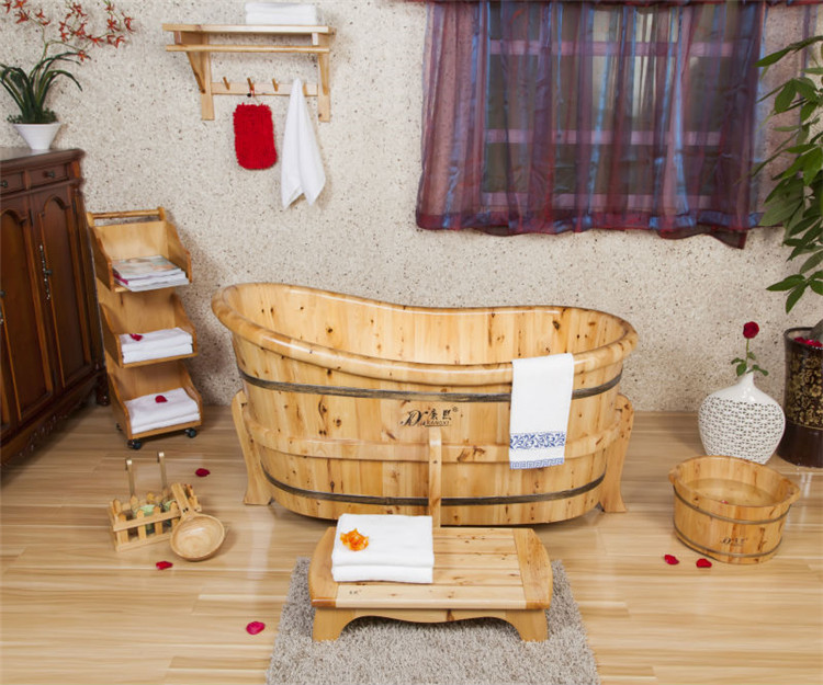 Vasca Da Bagno Legno Usata : Piscina vasca idromassaggio in legno per la adulto vasca da bagno