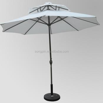 270cm Pagoda Patio Umbrella Parasol
