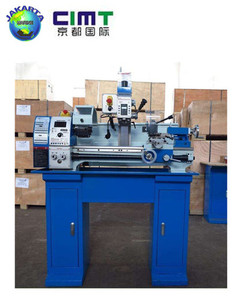 high precision horizontal mini lathe machine / turning lathe / lathe milling cutting machine with high quality