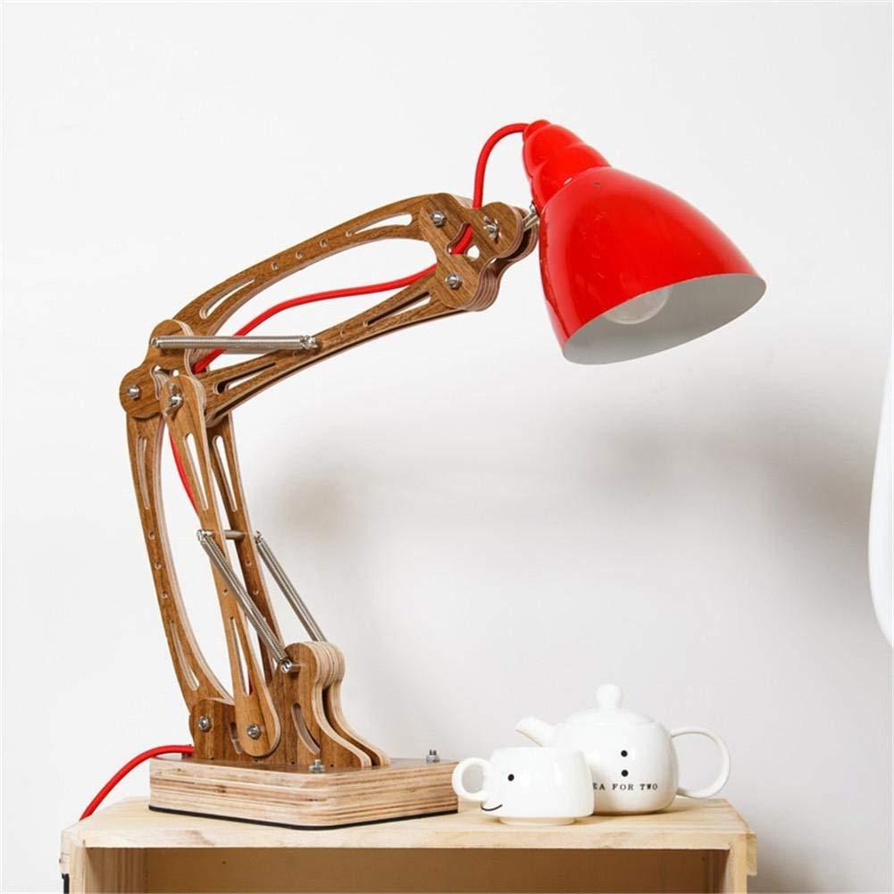 Desk Lamps rocker arm Desk Lamp Flexible Long Swing Arm Led Desk Lamp 6W Eye-Care Led Table Lamp Multi-Joint Led Reading Light, 2