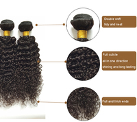 Most Beautiful Mink High Quality Different Types Of Curly Weave Hair