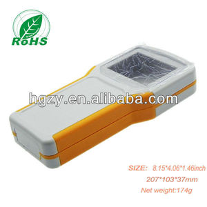 Waterproof Ip65 handheld plastic enclosure post cases for electronic