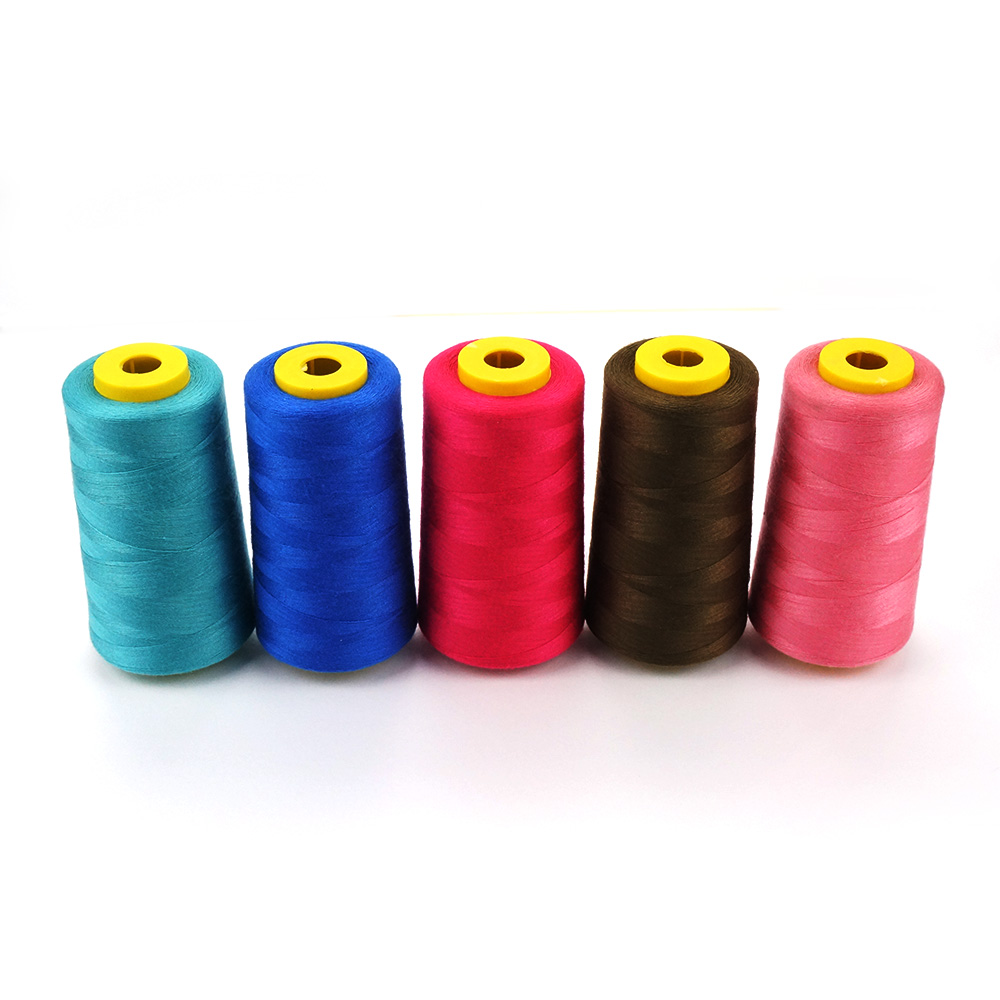 40s2 polyester sewing thread on plastic cone