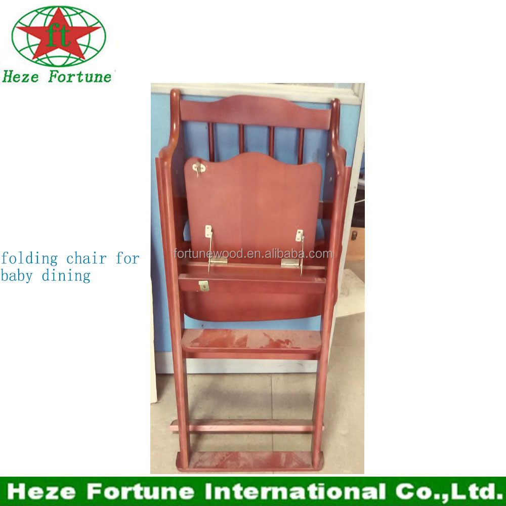 Wood Design Dining Folding Chair For Baby - Buy Dining Chair ...