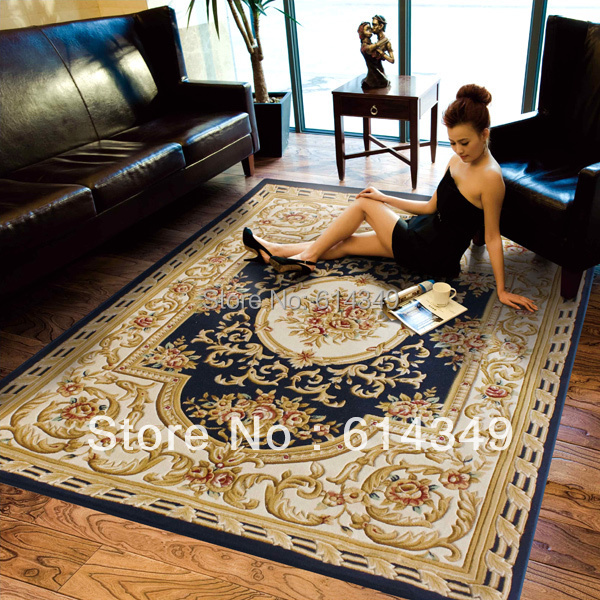 Persian Style Carpet Sitting Room Rugs Flower Fashion New