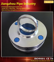 High quality threaded forging flange with plastic caps