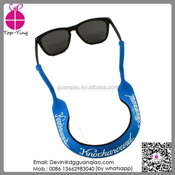 6517edf86d Wholesale custom neoprene sunglasses croakies strap eyewear strap bulk buy  from china