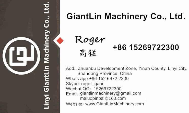 GiantLin different clay lego interlocking block machine classification