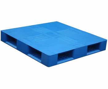1100*1100mm heavy duty flat surface cross base plastic pallet