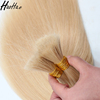 European hair human blonde #613 virgin hair bulk wholesale