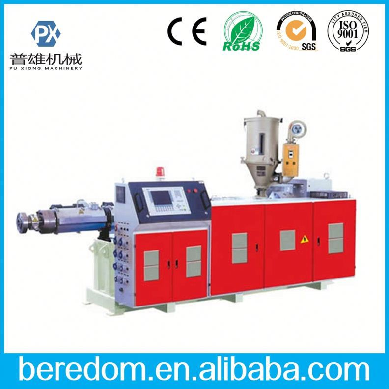 Pvc Extruder For Pvc Jacked Flexible Metal Spiral Hose Machine