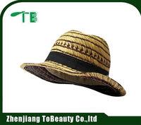 Palm leaf straw hat