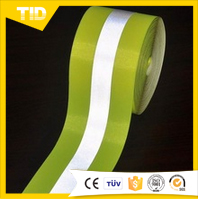 fluorescent reflective tape polyester tape conspicuous