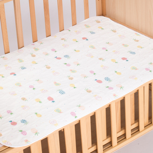 Muslin tree custom rectangle cotton waterproof 70*110cm baby diaper changing mat pad