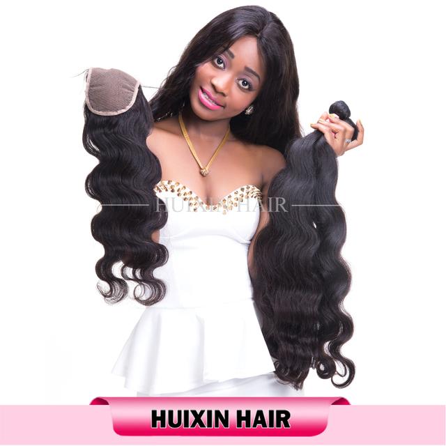 Unprocessed wholesale 9A virgin Peruvian hair , natural color body peruvian hair weaving