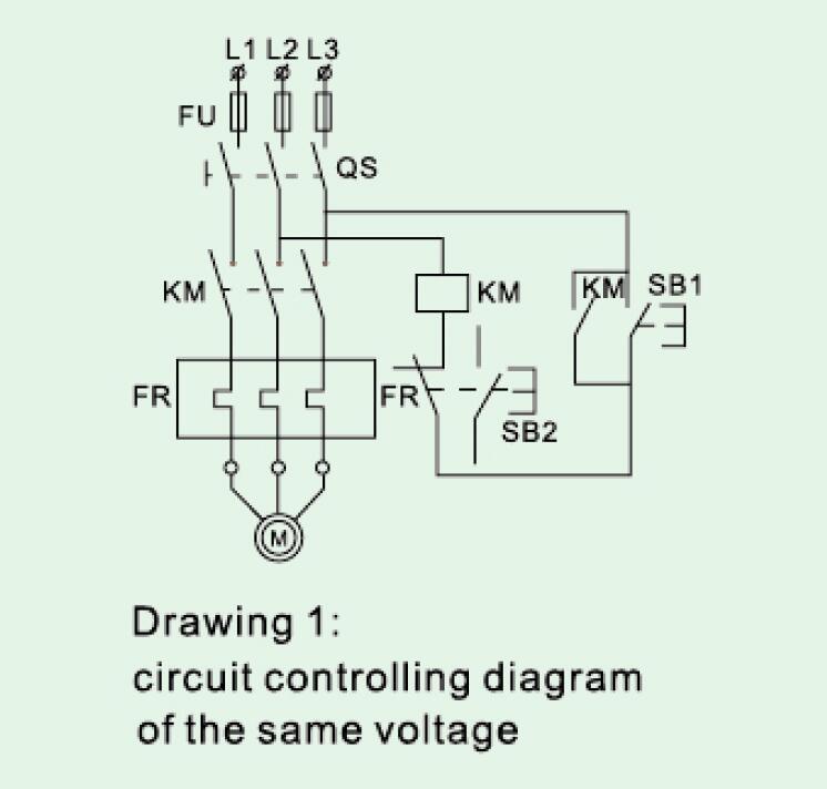 Dol Starter Control Diagram