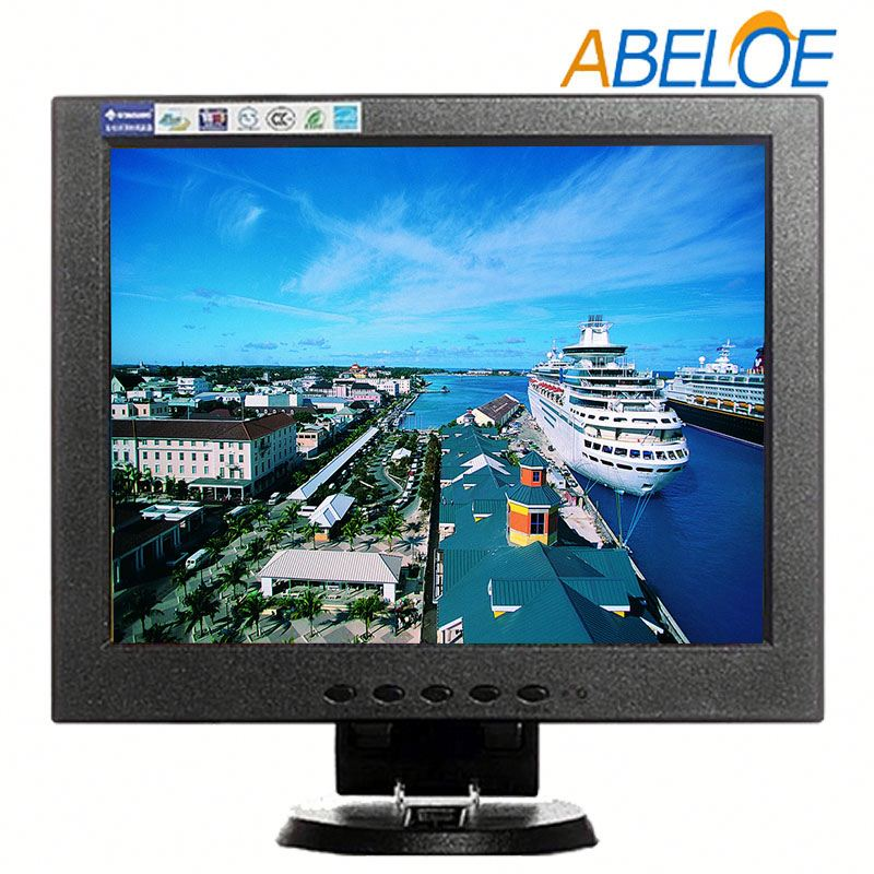 10.4 inch hd usb powered frameless lcd monitor with built in speaker