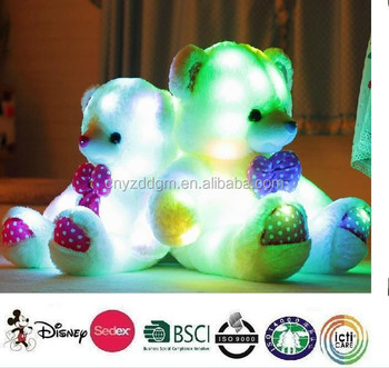 Light Up Teddy Bear Plush Toy/toy Bear/bear Toy