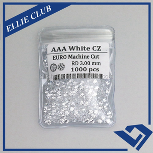 Perfect machine star cut cubic zirconia/fake diamond cz/alibaba cz beads