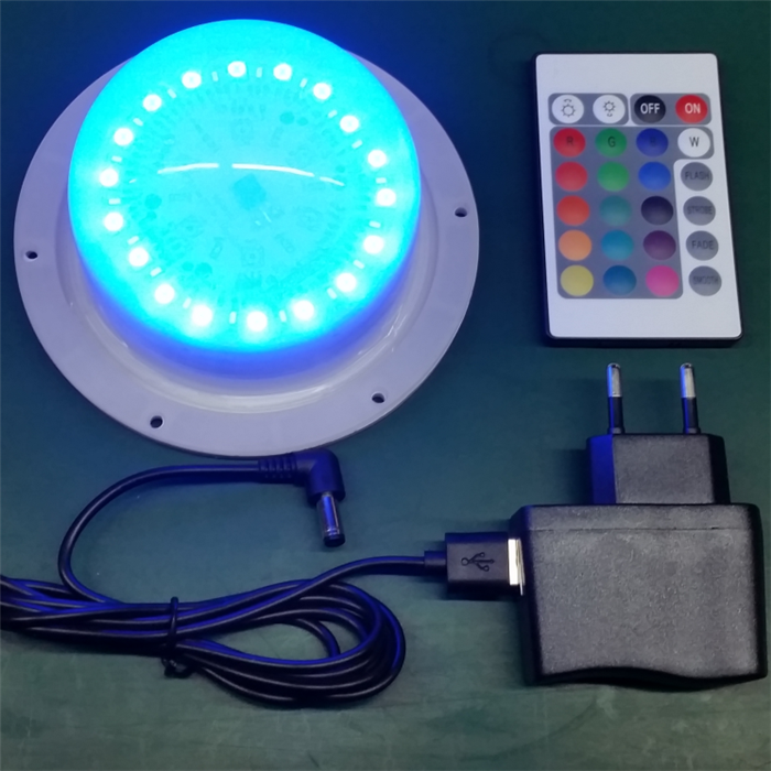 color changing high brightness long working time battery powered led under banquet table lighting
