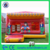 orange color bouncy castles/bounce house/cheap inflatable bouncers for sale