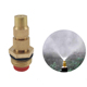 1/2'' Brass Male Thread Spray Head Adjustable Water Misting Irrigation Nozzles with Filter