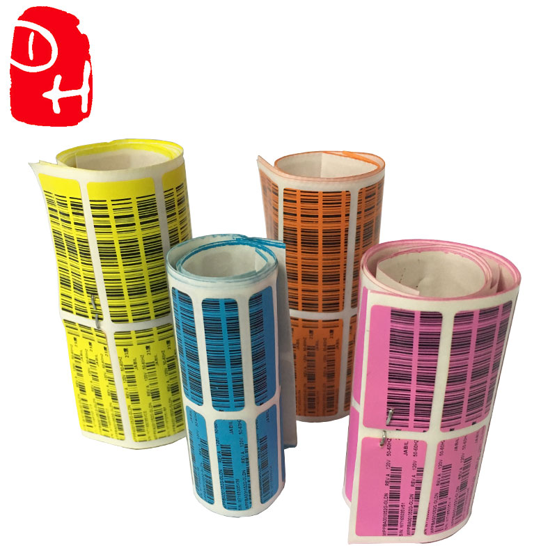 Reasonable price Professional factory manufacturing private label and barcode Label