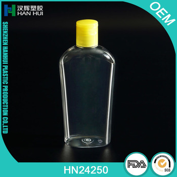 NEW STYLE GOOD QUALITY 250ML PLASTIC PET CONTAINER BOTTLE