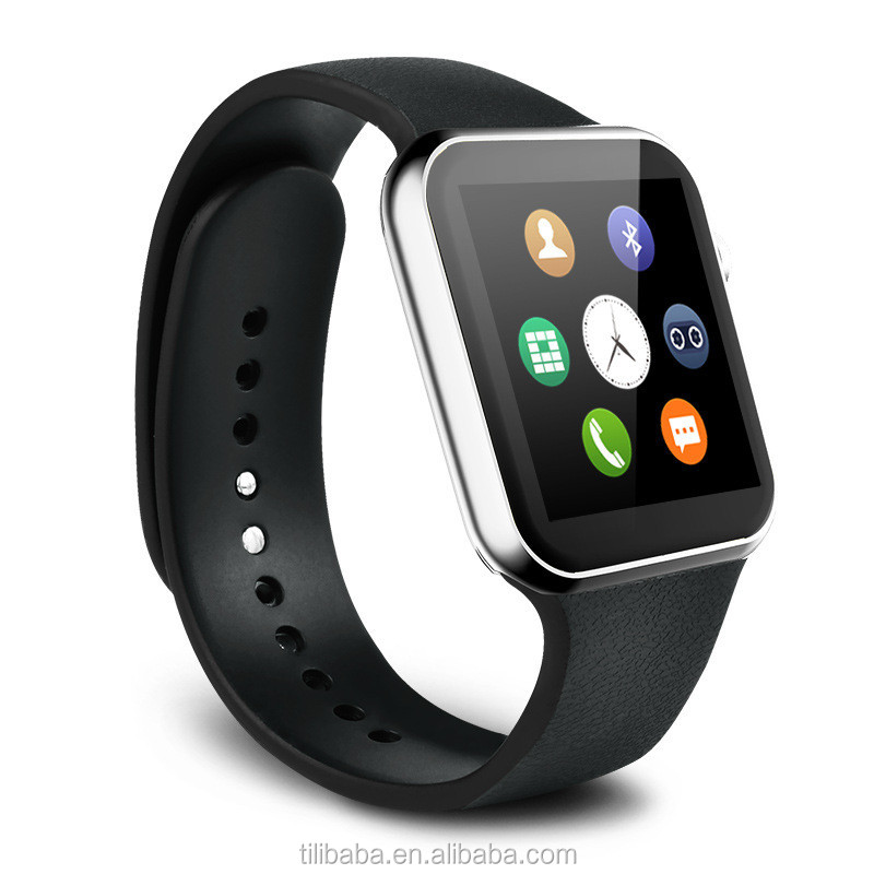 2015 A9 Smart Watch for Apple iPhone 6 5s 5C 5 Samsung S4/S3/Note2/Note3 HTC Huawei xiaomi Android Smartwatch for men heart rate